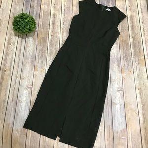 MM Lafleur | Olive Army Green Pencil Dress Size 4